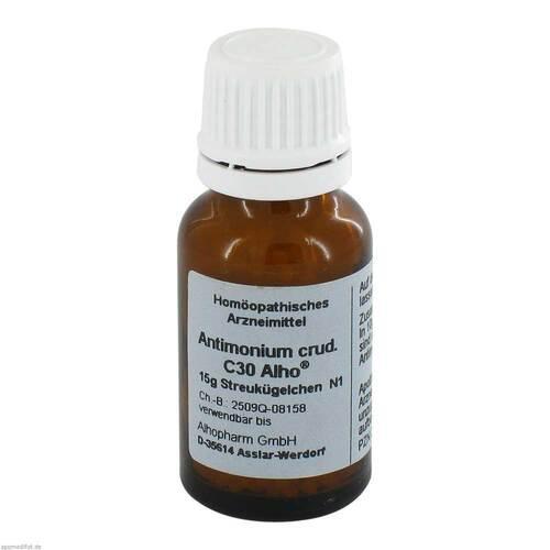 Antimonium crudum C 30 Globuli - 1