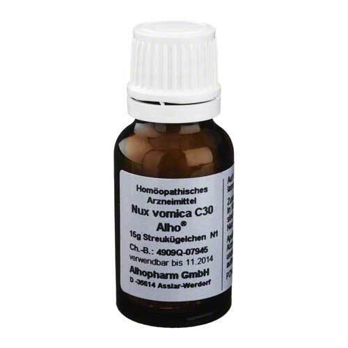 Nux vomica C 30 Globuli - 1