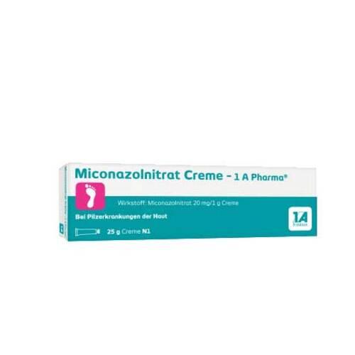 Miconazolnitrat Creme 1A Pharma - 1