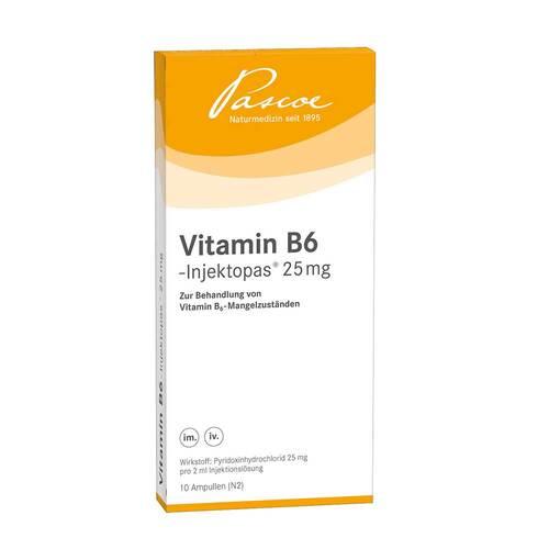 Vitamin B6 Injektopas 25 mg Injektionslösung - 1