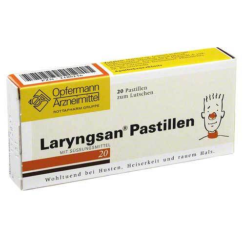 Laryngsan Pastillen - 1