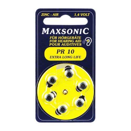Batterien für Hörgeräte Maxsonic PR10 - 1