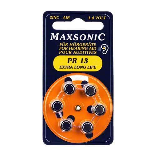 Batterien für Hörgeräte Maxsonic PR13 - 1