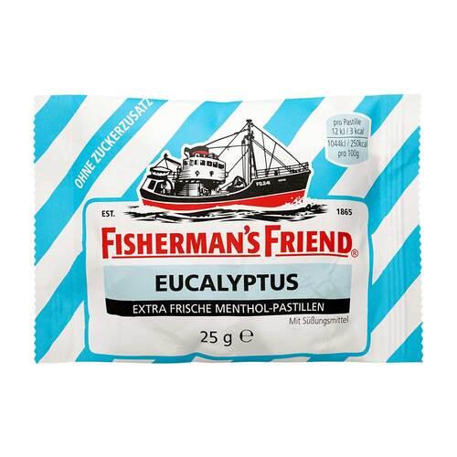 Fishermans Friend Eucalyptus ohne Zucker Pastillen - 1
