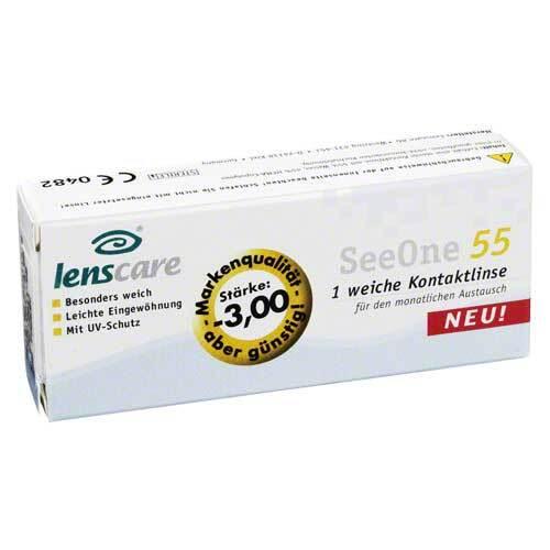 Lenscare Seeone 55 -3,00 Dio - 1