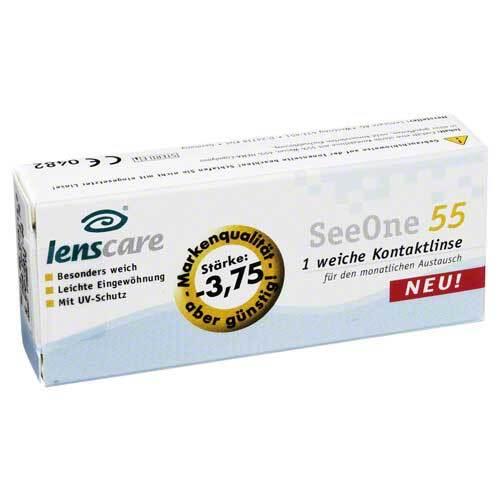 Lenscare Seeone 55 -3,75 Dio - 1