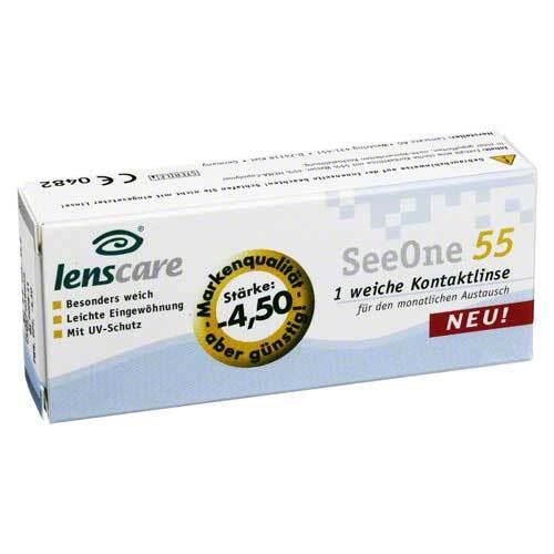 Lenscare Seeone 55 -4,50 Dio - 1