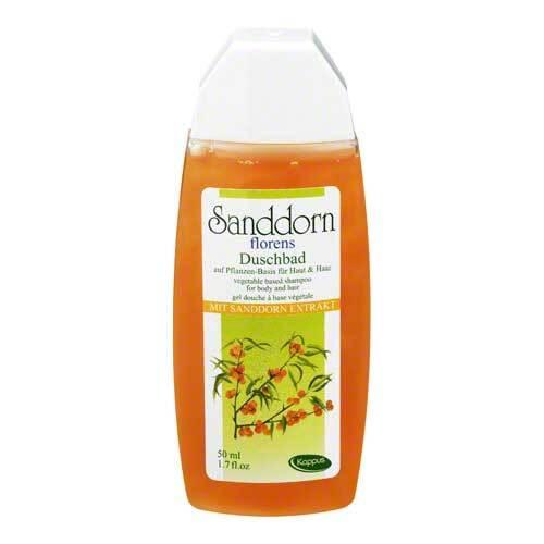 Kappus Sanddorn Florens Ethno Pflanzenöl Duschbad - 1