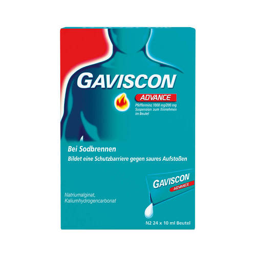 Gaviscon Advance Pfefferminz Suspension - 1