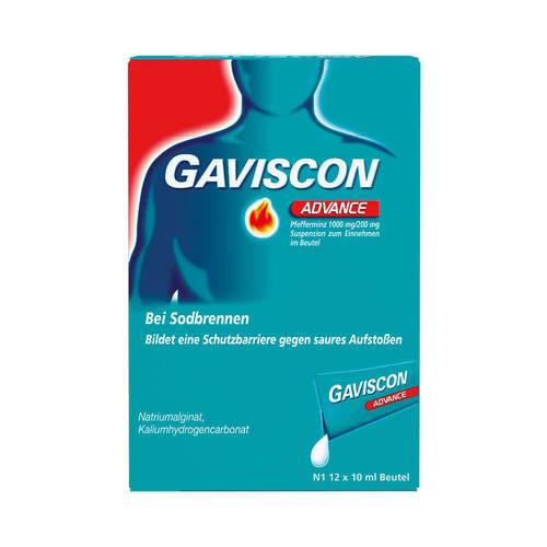Gaviscon Advance Pfefferminz Suspension - 1
