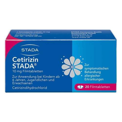 Cetirizin STADA 10 mg Filmtabletten - 1