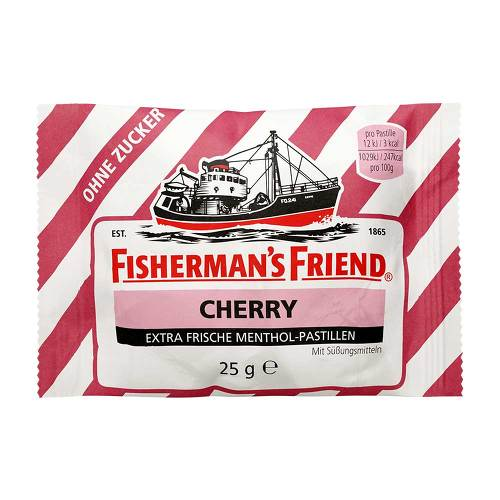 Fishermans Friend Cherry ohne Zucker Pastillen - 1
