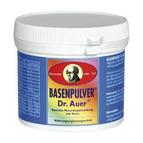 Basenpulver nach Dr. Auer - 1