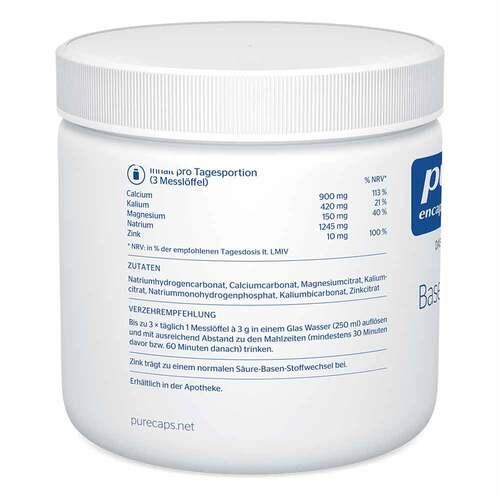 Pure Encapsulations Basenpulver plus  - 3