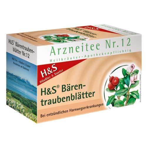 H&S Bärentraubentee Filterbeutel - 2