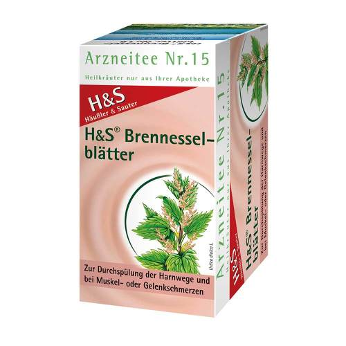H&S Brennesselblättertee Filterbeutel - 2