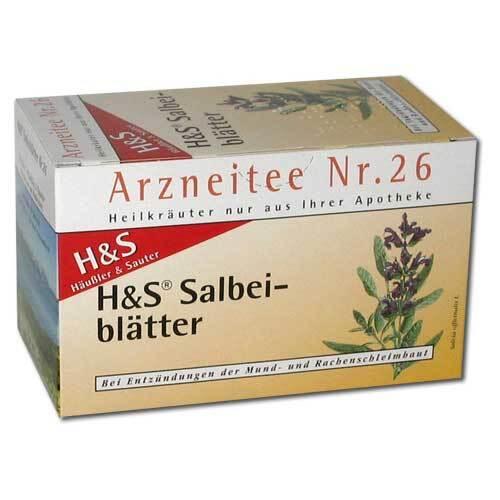 H&S Salbeiblätter Tee Filterbeutel - 2