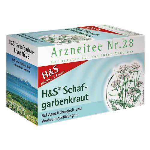 H&S Schafgarbentee Filterbeutel - 1