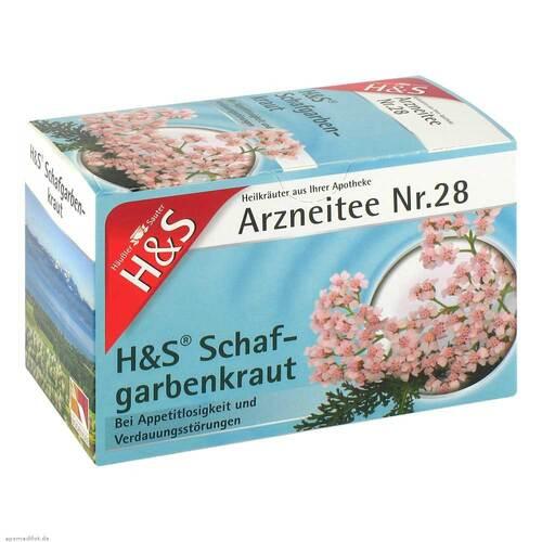 H&S Schafgarbentee Filterbeutel - 2