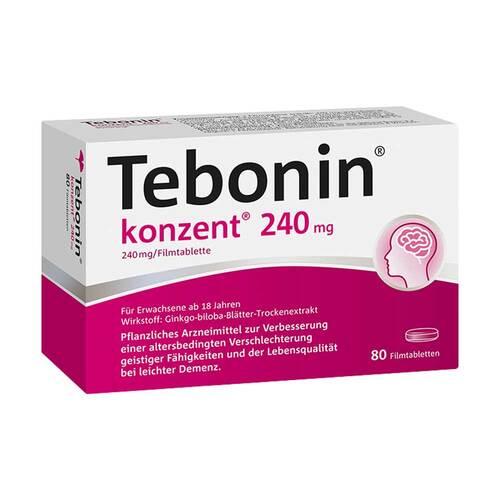 Tebonin konzent 240 mg Filmtabletten - 1