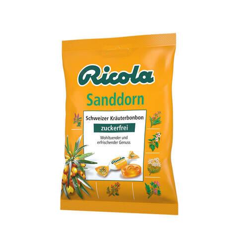Ricola ohne Zucker Sanddorn Bonbons - 1