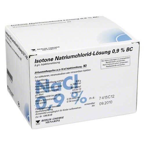 PZN 02337169 Injektionslösung, 20X10 ml
