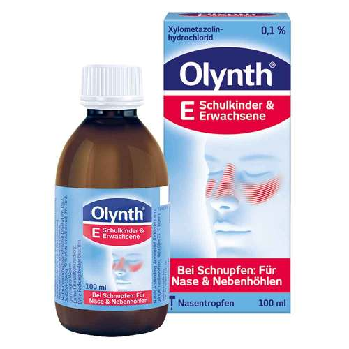 Olynth 0,1% für Erwachsene Nasentropfen - 1