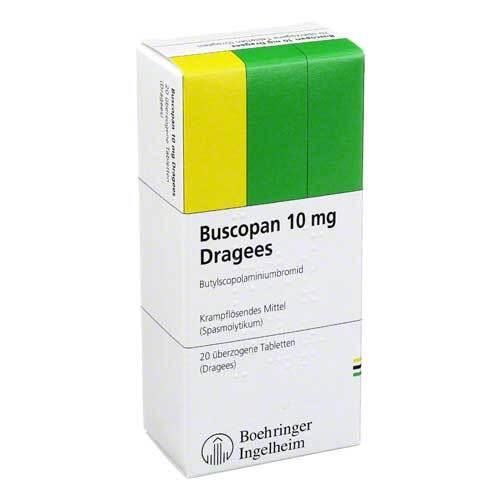 Buscopan 10 mg Dragees - 1