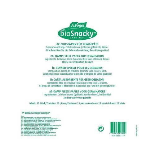 Biosnacky Vliespapier für Sprossengarten - 1