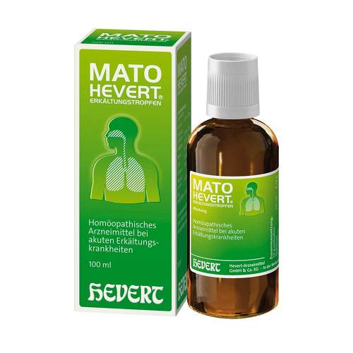 Mato Hevert Erkältungstropfen - 1