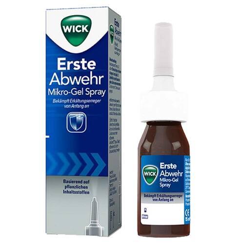 WICK Erste Abwehr Nasenspray Sprühflasche - 1