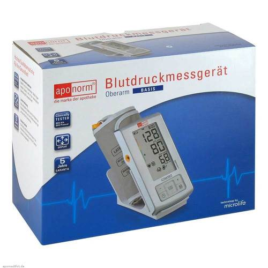 Aponorm Blutdruck Messgerät Basis Oberarm - 1