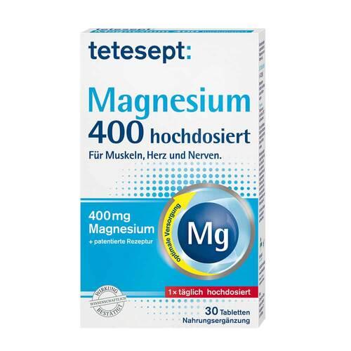 Tetesept Magnesium 400 hochdosiert Filmtabletten - 1