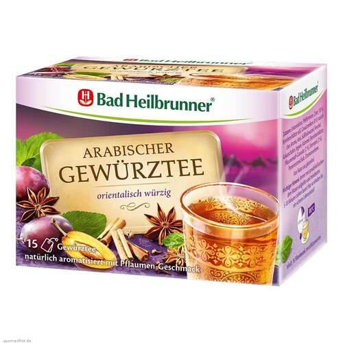Bad Heilbrunner Tee arabischer Gewürztee Filterb. - 1