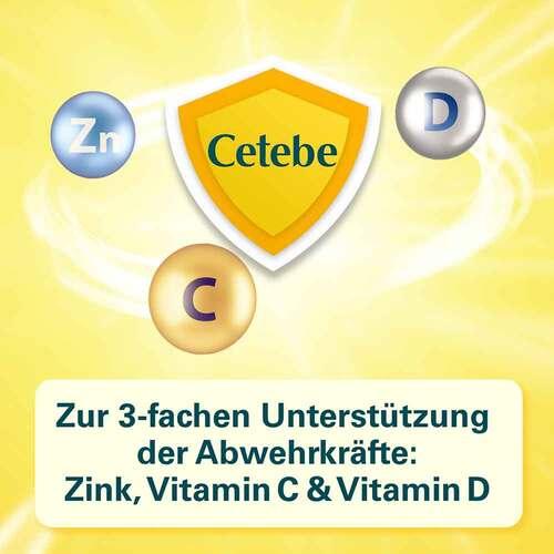 Cetebe Abwehr plus Vitamin C + Vitamin D3 + Zink Kapseln - 3