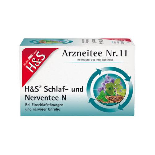 H&S Schlaf- und Nerventee Filterbeutel - 1