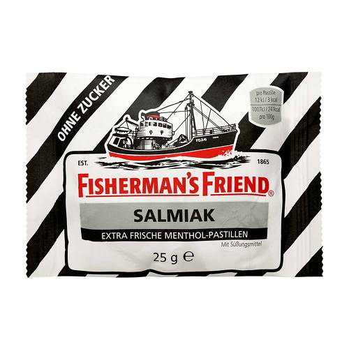 Fishermans Friend Salmiak ohne Zucker Pastillen - 1