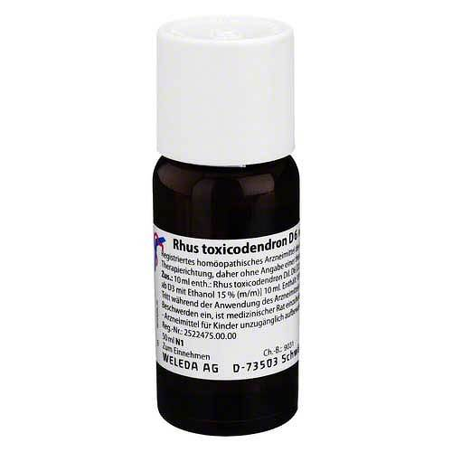 Rhus toxicodendron D 6 Dilution - 1