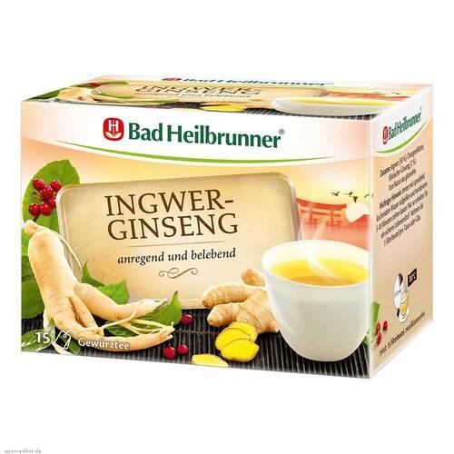 Bad Heilbrunner Tee Ingwer Ginseng Filterbeutel - 1