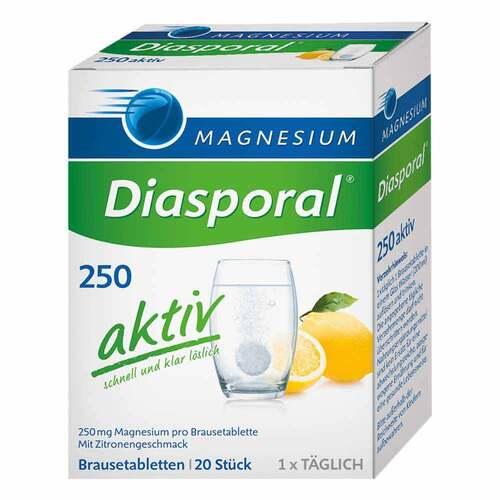 Magnesium Diasporal 250 aktiv Brausetabletten - 1