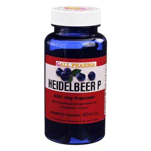 Heidelbeer P 400 mg Kapseln - 1
