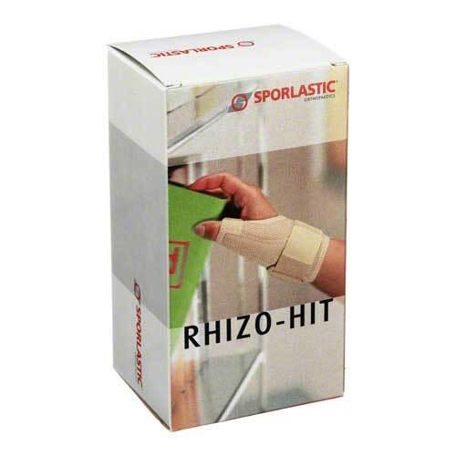 Rhizo-Hit Classic Daumenorthese Größe S haut 07605 - 1