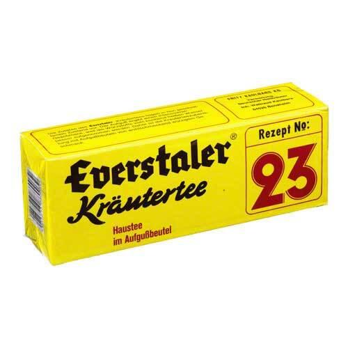 Everstaler Rezept Nr. 23 Kräutertee Beutel - 1
