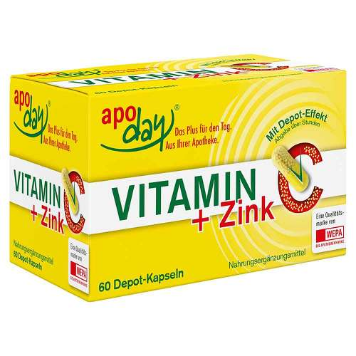 Vitamin C + Zink Depot Kapse - 1
