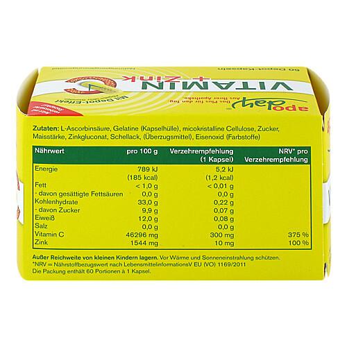 Vitamin C + Zink Depot Kapseln - 2