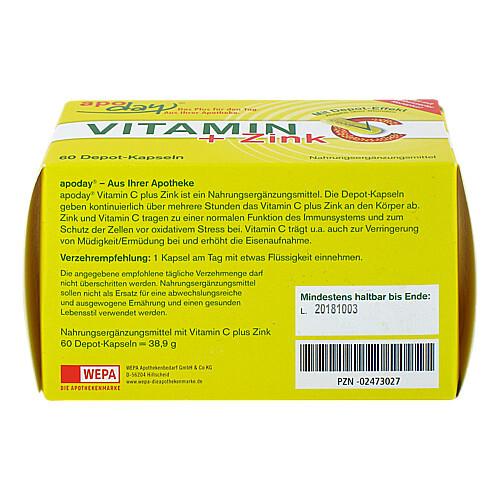 Vitamin C + Zink Depot Kapseln - 3