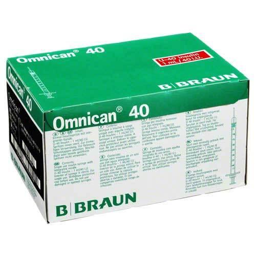 Omnican 40 Ins.kanüle Spr.1ml / 4 - 1