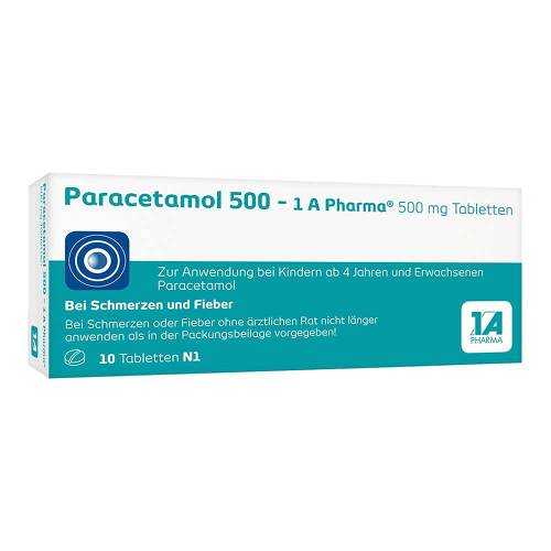 Paracetamol 500 1A Pharma Tabletten - 1