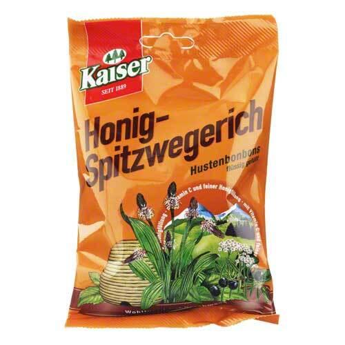 Kaiser Honig-Spitzwegerich Bonbons - 1