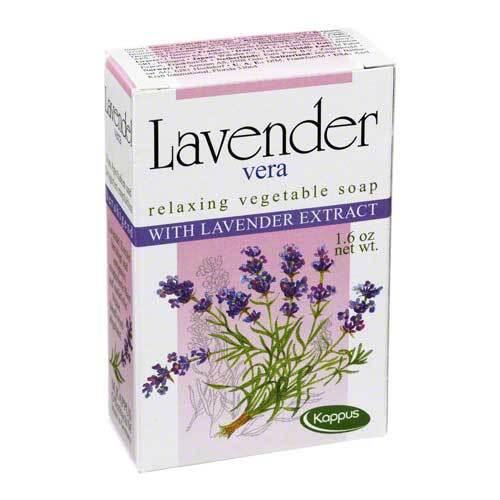 Kappus Lavendel Vera Pflanzenölseife - 1